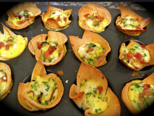 Breakfast in Muffin Cups