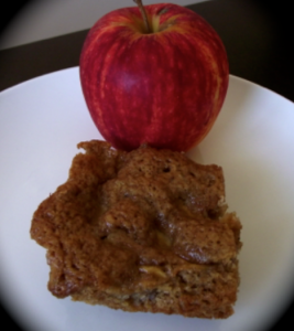 apple butterscotch brownies