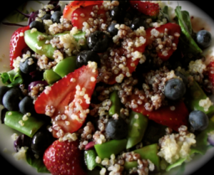 strawberry blueberry salad
