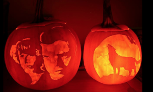 Supernatural pumpkin