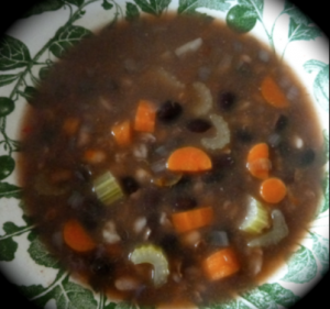 crock-pot bean soup